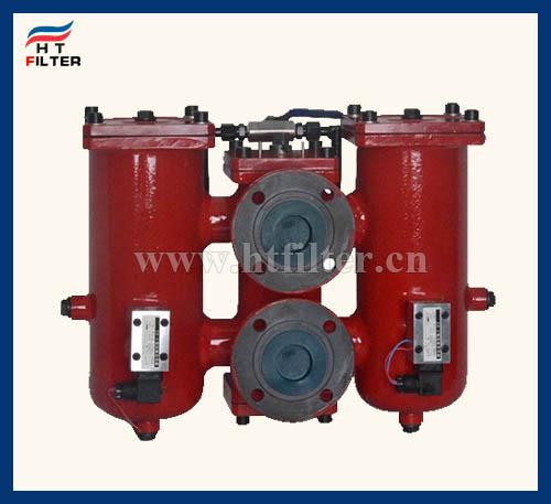 SRLF双筒回油管路过滤器
