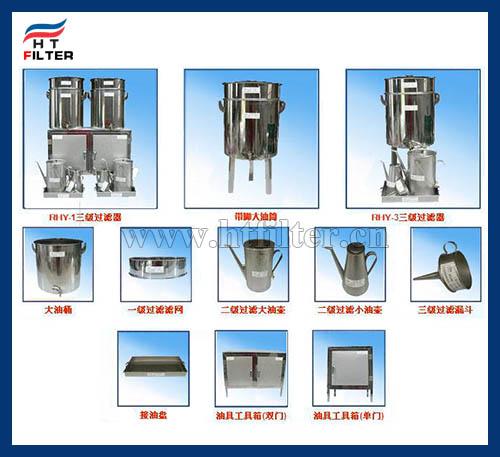 RSL润滑油三级过滤器