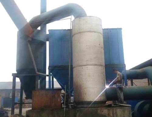 10吨锅炉配套布袋除尘器